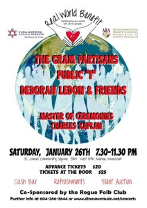 Benefit for Cuba Poster