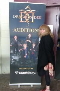 Sue Kenney at Dragons' Den