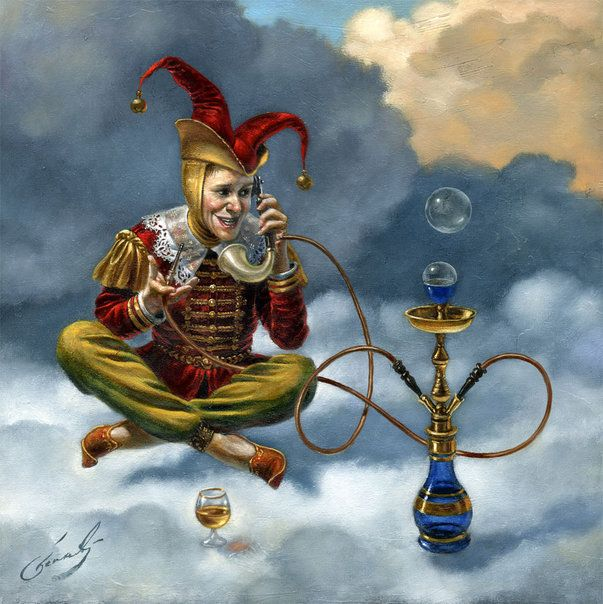 Art by Michael Cheval