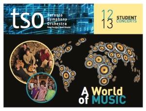 Toronto Symphony Orchestra A World of Music