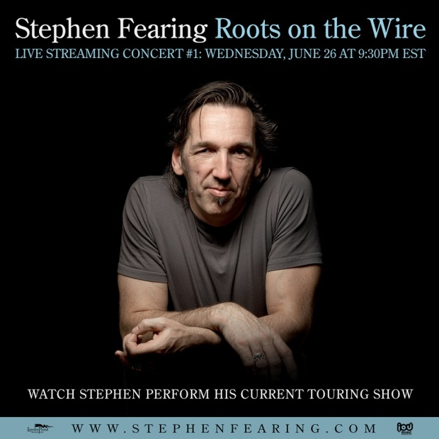 Stephen Fearing Roots on the Wire Live Streaming Concerts