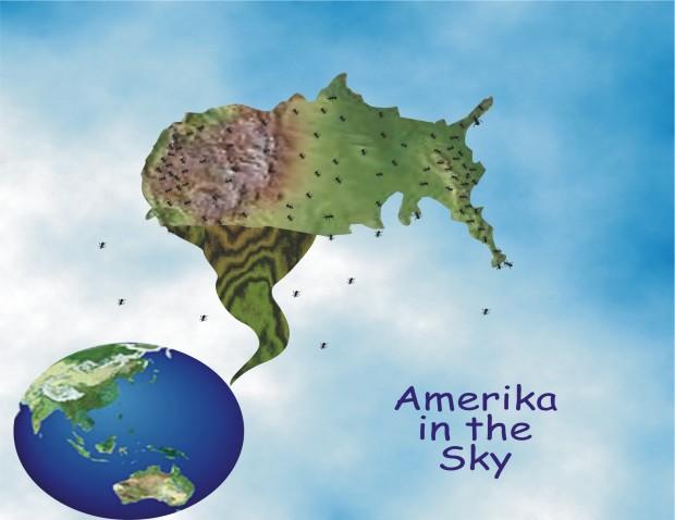 Amerika in the Sky image by Rosa Seeyah