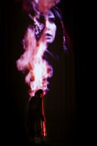 Lisa Ray in TAJ - photo by Sid Sawant