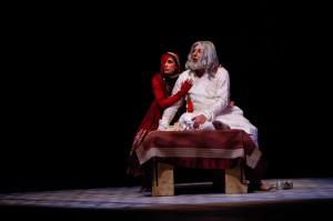 Lisa Ray and Kabir Bedi in TAJ - photo by Sid Sawant