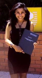 Dr Samita Nandy receives her PhD