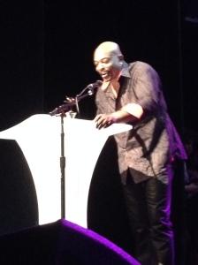 Anslem Douglas at Black Canadian Awards