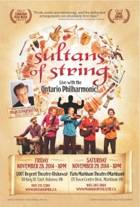 Sultans of String Live with Ontario Philharmonic