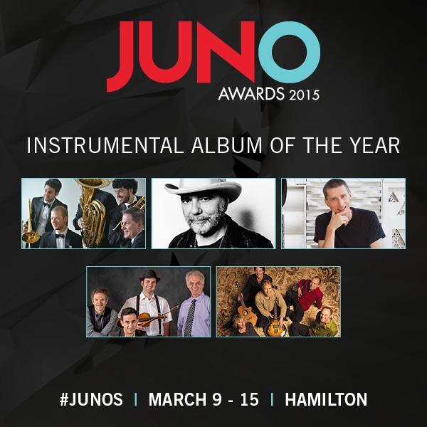 Juno Awards 2015 Instrumental Album of the Year nominees