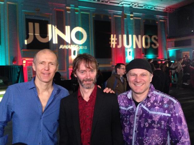 Drew Birston, Kevin Laliberte and Chris McKhool