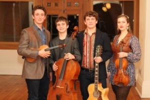 Métis Fiddler Quartet
