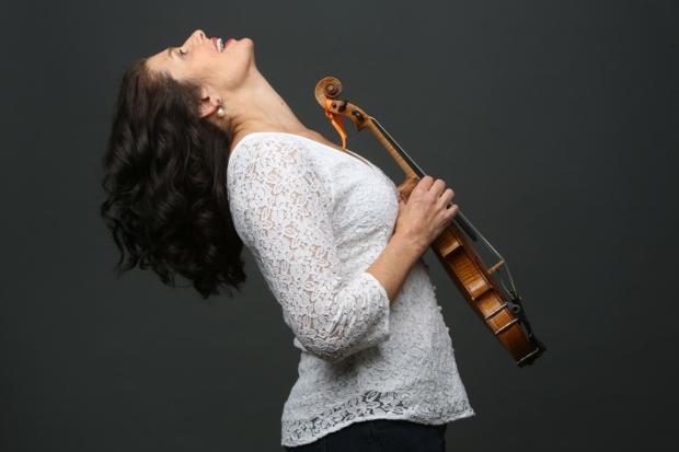 Genre-defying fiddle player Anne Lindsay