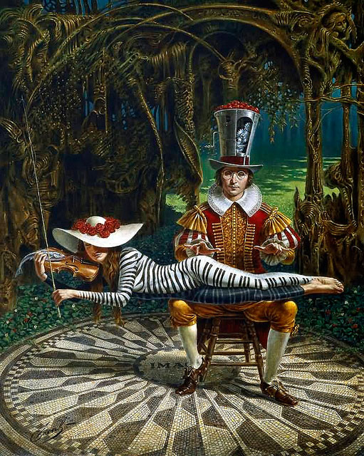 Imagine by Michael Cheval