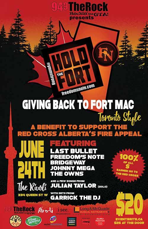 Fort McMurray Benefit Concert
