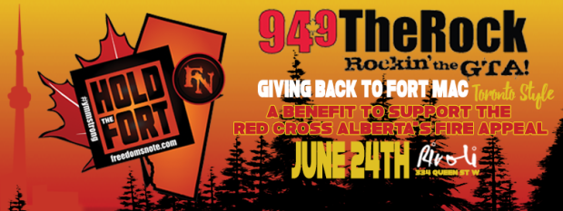A Benefit to support The Red Cross Alberta's Fire Appeal