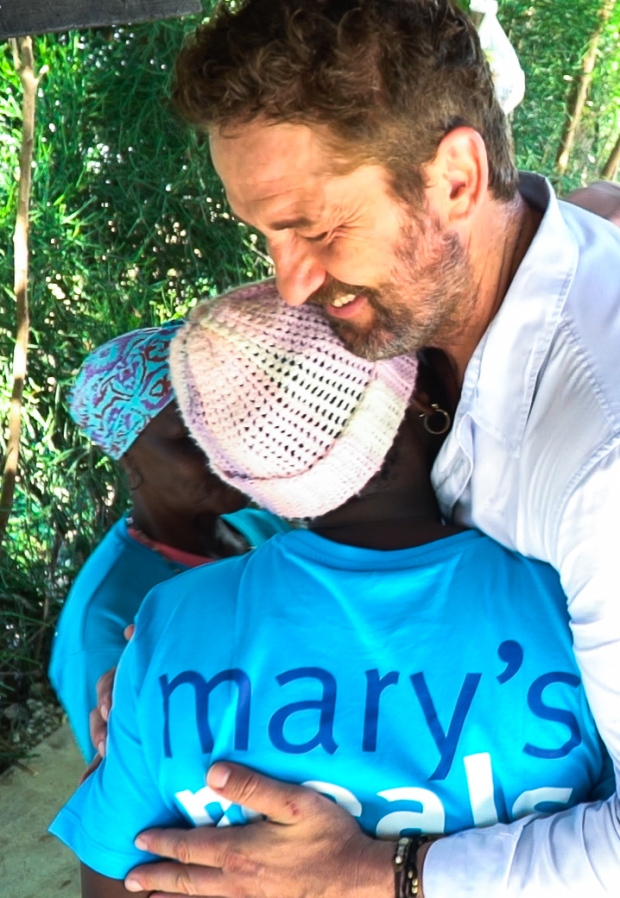 Gerard Butler Mary's Meals