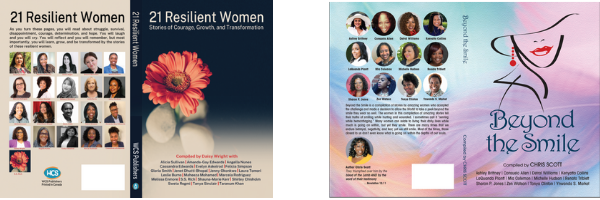 21 Resilient Women and Beyond the Smile Anthologies